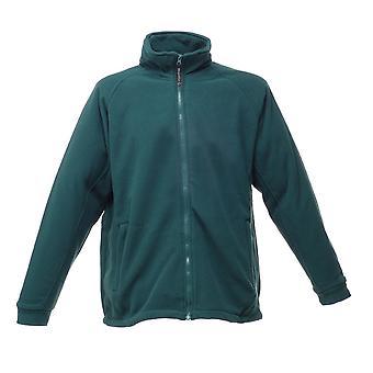 Regatta Mens Omicron II Waterproof Breathable Fleece Jacket Bottle Green