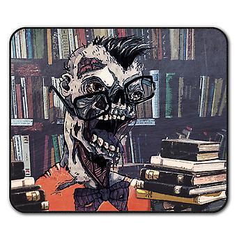 Geek Brain Creepy  Non-Slip Mouse Mat Pad 24cm x 20cm | Wellcoda