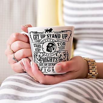 Bob Marley cytat Nowa Biała herbata kawa Latte ceramiczny kubek 17 oz   Wellcoda