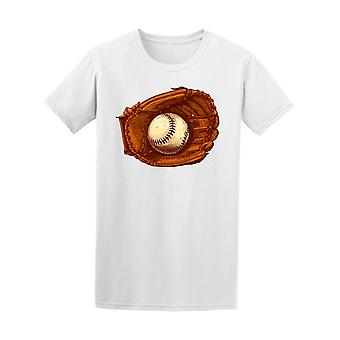 Baseball Glove And Ball Tee Men's -Image by Shutterstock