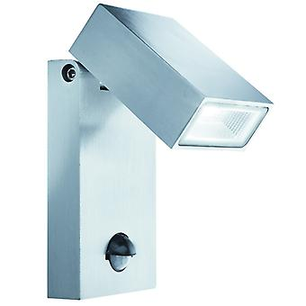 Led Outdoor Aluminium Wall Bracket, Pir Sensor