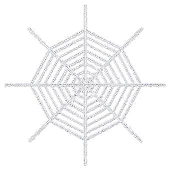 Araña gigante brillante - blanco