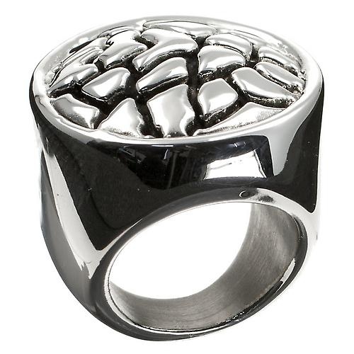 Metalliskt Silver Ring