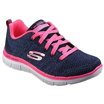 Skechers Childrens Girls Skech Appeal 2.0 High Energy Lace-Up Trainers