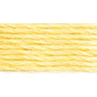 DMC 6-Strand Embroidery Cotton 100g Cone-Golden Yellow Very Light