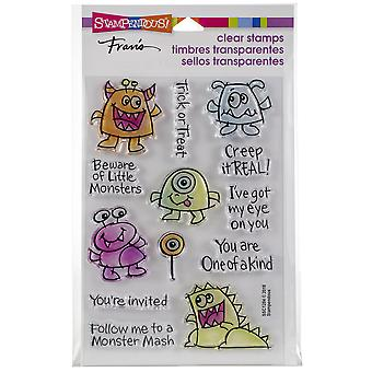 Stampendous Perfectly Clear Stamps -Little Monsters