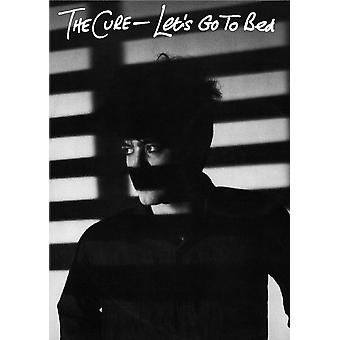 The Cure Bed Lets Go To Bed Poster Poster Print