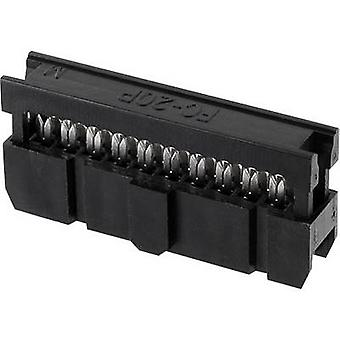 econ connect Pin connector Contact spacing: 2.54 mm Total number of pins: 64 No. of rows: 2 1 pc(s) Tray
