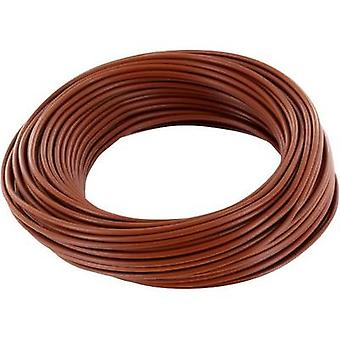 BELI-BECO D 105/10 Jumper wire 1 x 0.20 mm² Brown 10 m