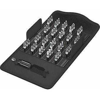 Bit set 61-piece Wera Bit-Safe 61 Universal 2 05057455001 Pozidriv, Phillips, TORX socket
