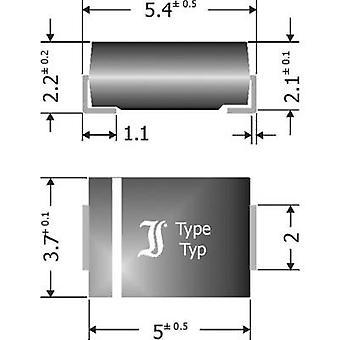 Diotec Schottky barrière gelijkrichter SK54 doen 214AA 40 V 5 A
