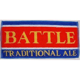 Battle Traditional Ale Cotton Bar Towel 500Mm X 225Mm
