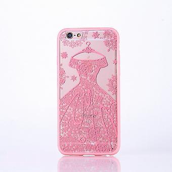 Mobile case mandala for Apple iPhone 6 / 6s design case cover motif dress cover bag Bumper Rosa