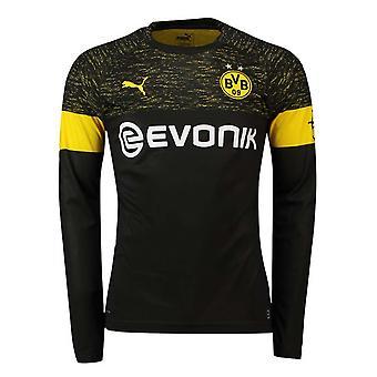 2018-2019 Borussia Dortmund Away Long Sleeve Puma Shirt