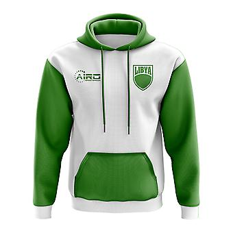 Libië Concept land voetbal Hoody (wit)