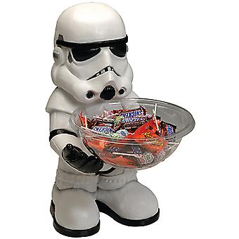Stormtrooper snoep Bowl houder star wars halfbroer 40 cm met kom