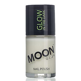 Moon Glow - 14m Glow in the Dark Nail Varnish - Invisible