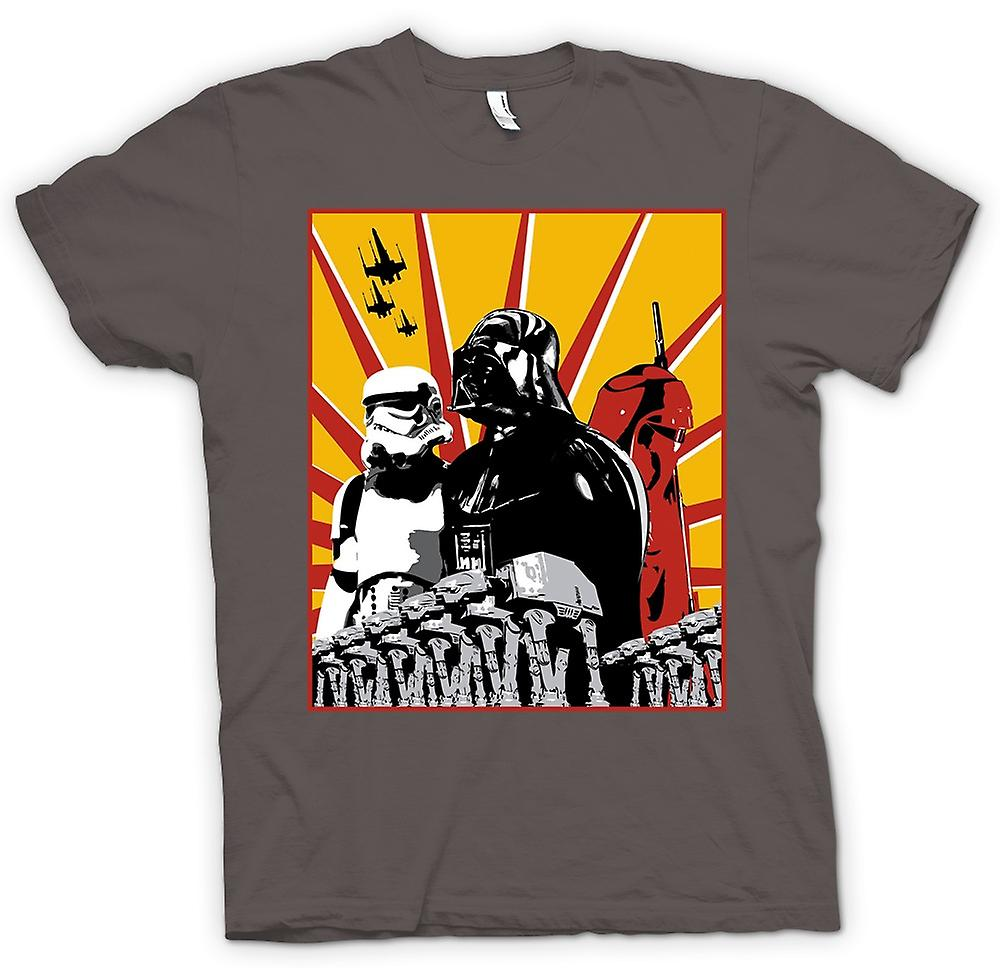 Femmes T-shirt - Star Wars - Darth Vader et Storm Tropper