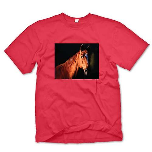 T-shirt homme - Brown Horse Portrait