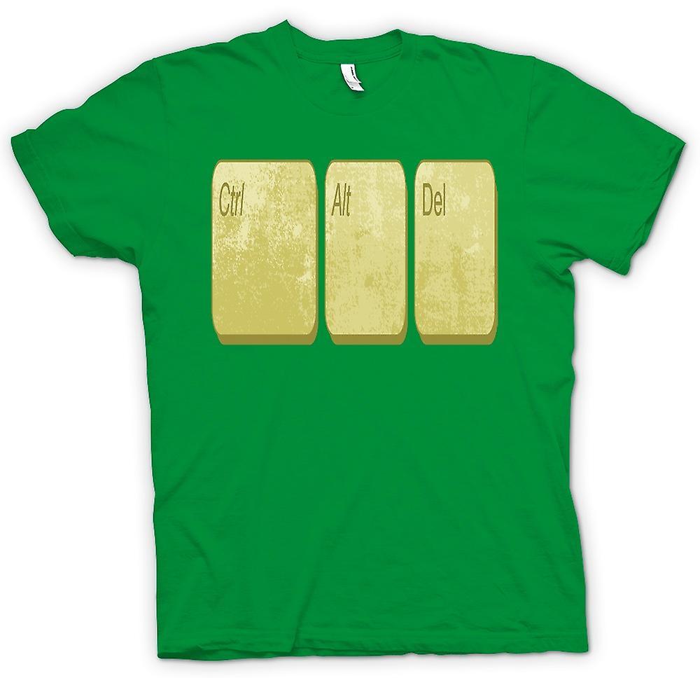 T-shirt des hommes - Alt Delete contrôle - Drôle