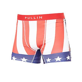 Pull-In Red-White-Blue Fashion 2 Apollo Boxer Shorts