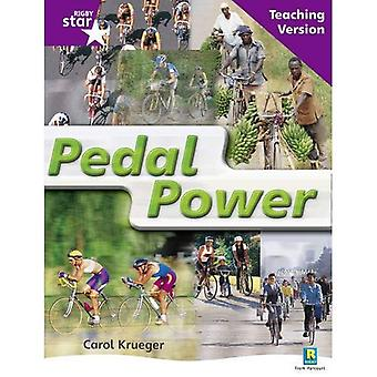 Pedal Power: Purple Level Non-fiction (Rigby Star Guided)