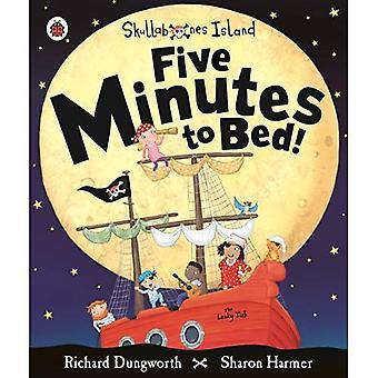 Vijf minuten naar Bed! Een prentenboek van lieveheersbeestje Skullabones eiland