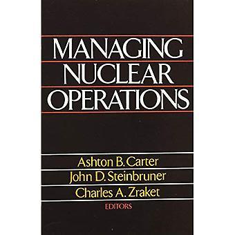 Gestión de las operaciones nucleares