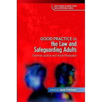 Gute Praxis in der rechts- und Sicherung Erwachsene: Strafjustiz und Erwachsenen Schutz (Good Practice in Criminal Justice, Gesundheit und Sozialfürsorge)... Pflege und Strafjustiz