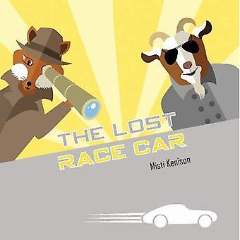 The Lost Race Car: A Fox and Goat Mystery (Fox and Goat Mysteries) [Board book]