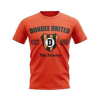 Dundee United camiseta de fútbol establecido (naranja)