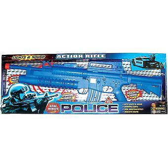 Polizei-Aktion-Gewehr