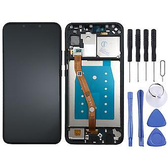 Voor Huawei P plus volledige LCD beeldscherm smart touch met frame onderdelen reparatie zwart nieuw