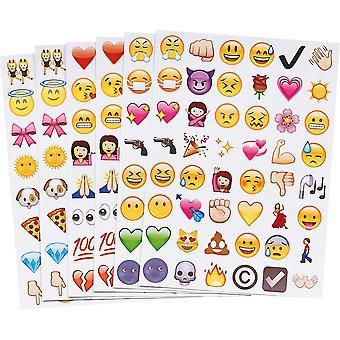 912st Emoji autocollants