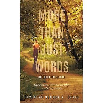 More Than Just Words by Davis & Reverend Gordon K.