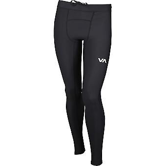 RVCA Mens VA Sport Compression Pants - Black