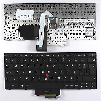 Lenovo 04W0937 con puntatore nero telaio nero UK Layout sostituzione tastiera portatile