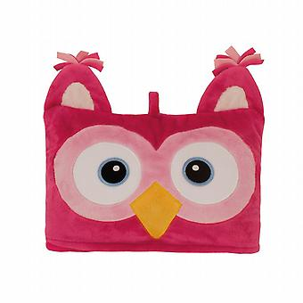 Aroma Home Cosy Up Kids Animal Hooded Blanket: Owl