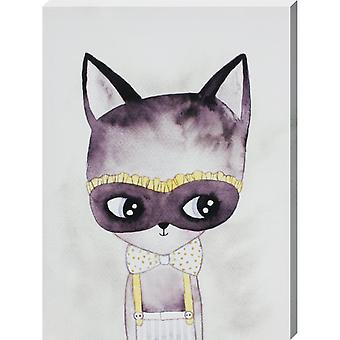 Grindstore Cat Burglar Canvas Print