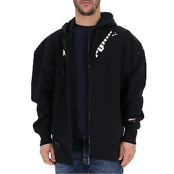 PUMA schwarz Baumwolle Sweatshirt