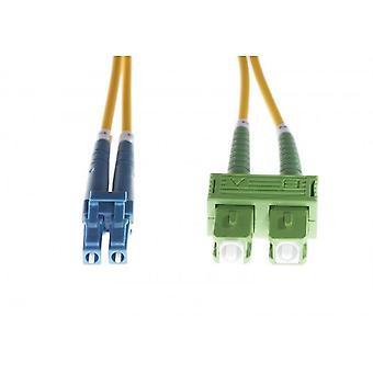 Lc-Sc/Apc Os1/Os2 Singlemode Fibre Optic Duplex Cable
