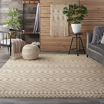 Palermo PMR03 Beige Grey  Rectangle Rugs Plain/Nearly Plain Rugs