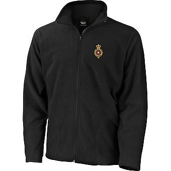 Royal Fusiliers-licenseret British Army broderet letvægts Micro fleece jakke