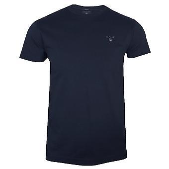 Gant the original men's evening blue t-shirt