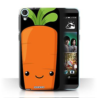 STUFF4 Case/Cover for HTC Desire 820s Dual/Carrot/Kawaii Food