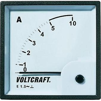 VOLTCRAFT AM-96 X 96/5A analog montere panel måleinstrumentet