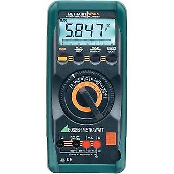 Handheld multimeter digital Gossen Metrawatt METRAHIT World Calibrated to: DAkkS standards CAT III 1000 V, CAT IV 600 V