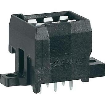Pin enclosure - PCB J-P-T Total number of pins 6 TE Connectivity 963357-5 Contact spacing: 5.60 mm 1 pc(s)