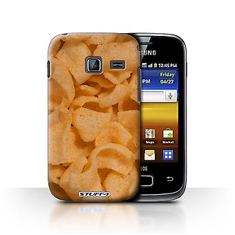 STUFF4 Case/Cover for Samsung Galaxy Y Duos/S6102/Quavers/Snacks