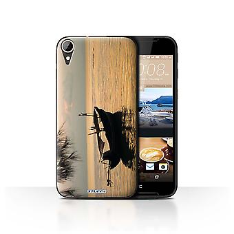 STUFF4 Case/Cover for HTC Desire 830/Fishing Boat/Thailand Scenery